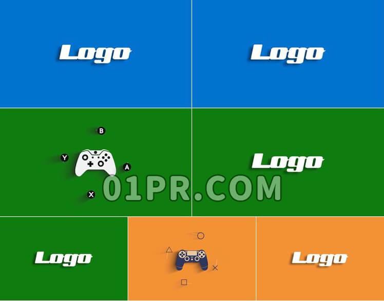Pr模板游戏LOGO展示