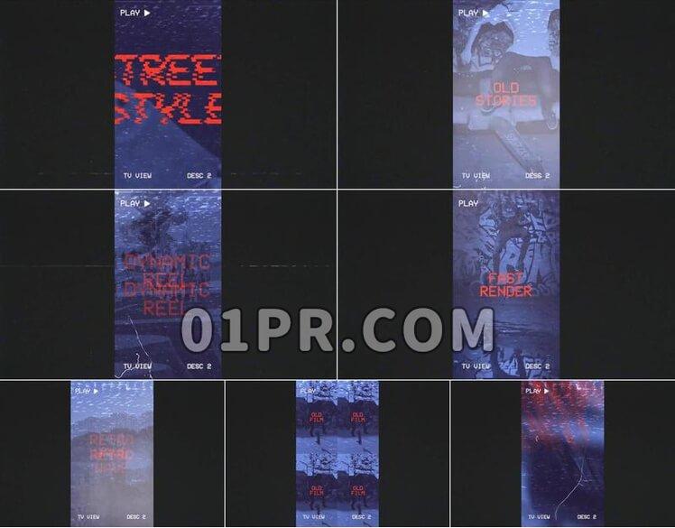 Pr素材VHS包装