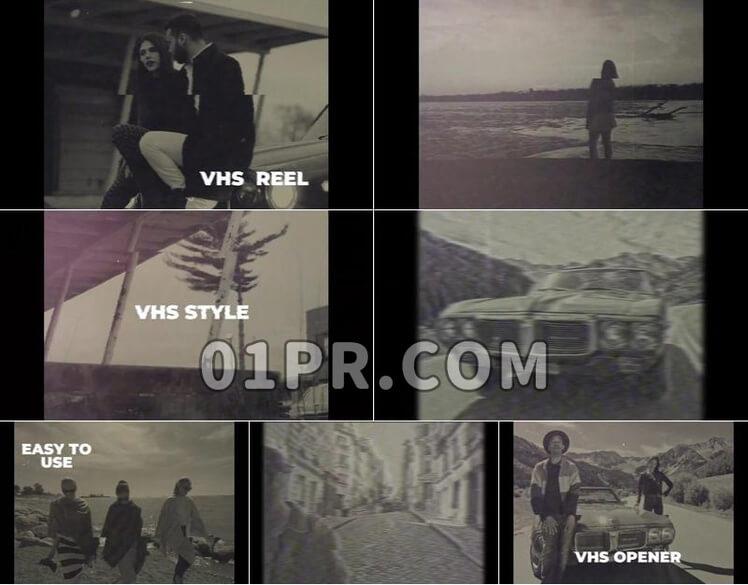 Pr模板VHS效果