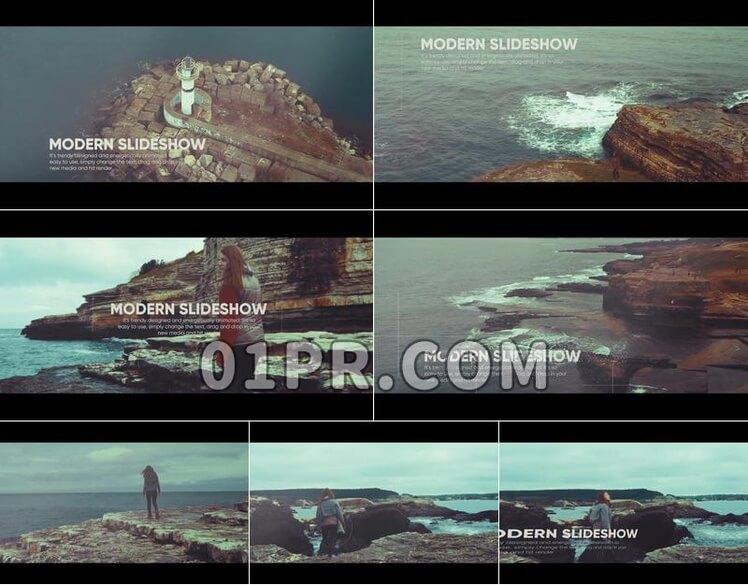 Pr模板影视环境展示
