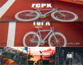 FCPX转场插件 18组简单RGB翻转过渡效果 FLIP TRANSITIONS FCPX插件