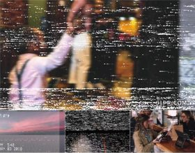 FCPX转场插件 8组复古VHS老旧电影过渡效果 FCPX素材