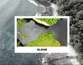FCPX转场插件 10组4K照片相框滑动过渡效果 FCPX素材