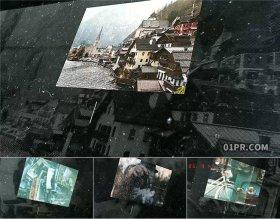 AE模板 15张60秒复古黑暗灰尘颗粒老旧历史纪录片