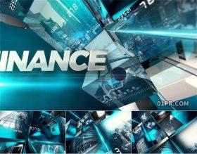 AE模板片头 38张13秒经济科技金融市场新闻报道 AE素材