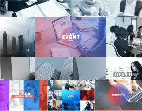 AE模板 19张38秒公司企业活动会议展示