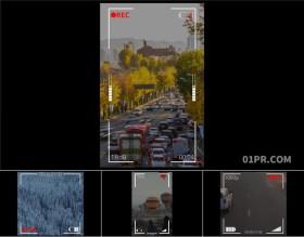 达芬奇预设 4组相机摄像头正方形竖屏屏幕取景框录制特效