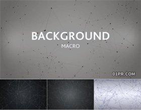 达芬奇预设  抽象金属丝线粒子动态图形背景特效