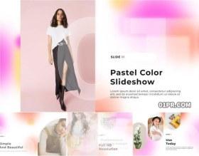 PR模板 淡雅柔和色彩化妆品服装女性美容幻灯片16张63秒