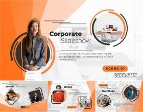 PR模板 现代商务活动公司宣传企业介绍图文幻灯片