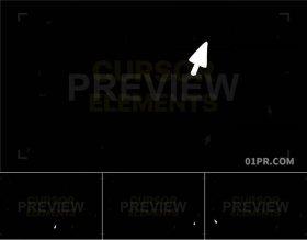 有趣移动光标鼠标箭头动画元素 23组4K视频素材PR/AE/FCPX